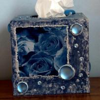 Rose de Nuit -Boîte à mouchoirs