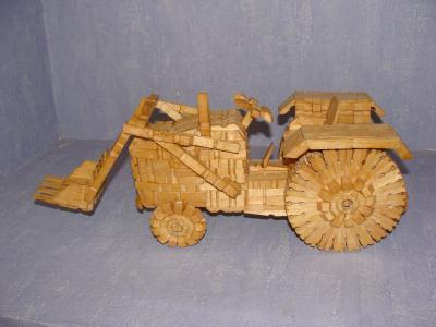Cr ations en pinces linge le blog de - Pince a linge en bois creation ...
