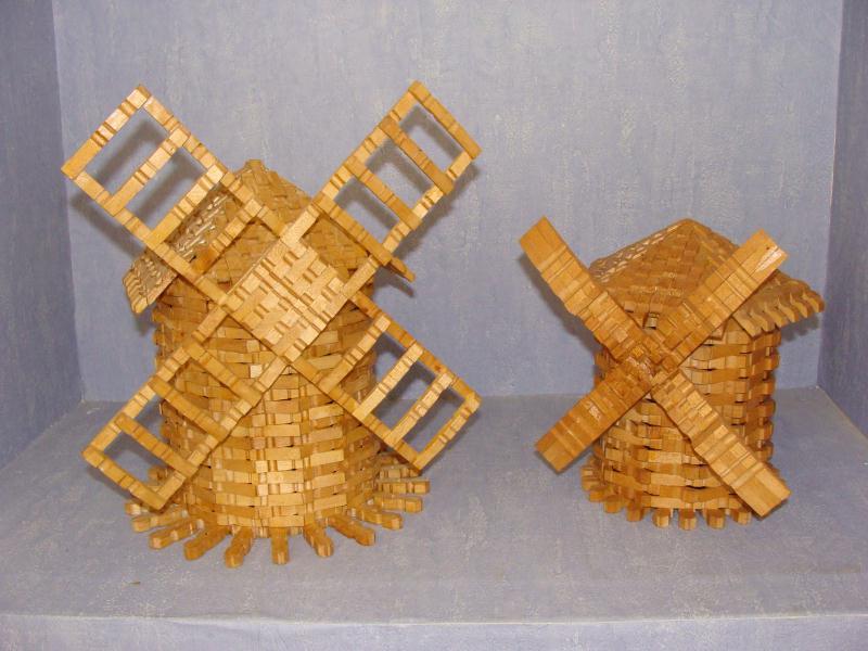 Moulins cr ation cr ation en pinces linge de mac gyver n 28 948 vue 18 939 fois - Pince a linge en bois creation ...