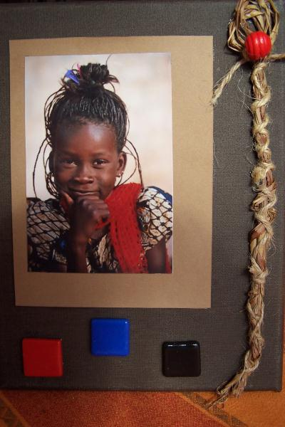 Petite fille africaine