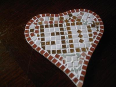 coeur de pierre en mosa que cr ation mosa que de. Black Bedroom Furniture Sets. Home Design Ideas