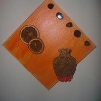 Tableau N°3 tout orange