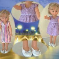 Vêtements poupée Chérie - petites robes