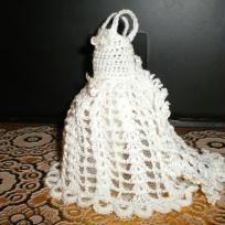 Robe de mariée - porte dragées