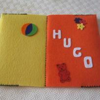 Protège carnet de santé pour Hugo