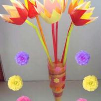 Les tulipes immortelles pour maman