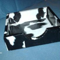 Porte serviette en vache
