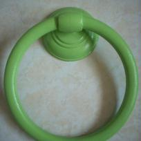 Porte serviette vert