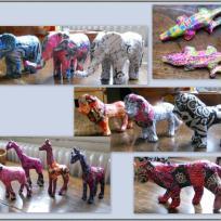 Le carnaval des animaux de la savane