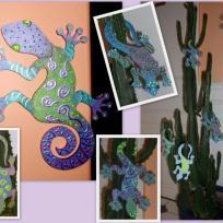 Une tribu de Gecko dans mon cactus