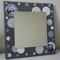 Miroir  gris et ses cercles