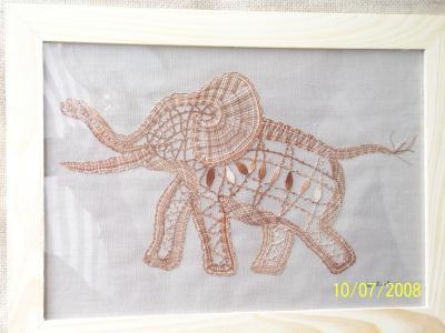 L'éléphant joyeux