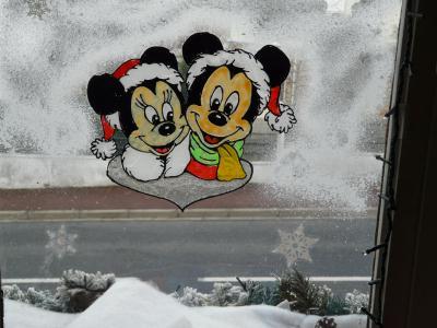 mickey et minnie dcorations de nol - Windows Color Noel