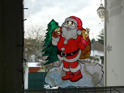 le pre nol et le sapin dcorations - Windows Color Noel