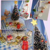 Le Noël de la maison de poupées