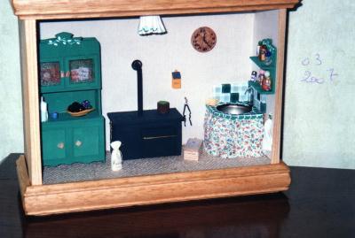 La cuisine d 39 antan cr ation maquettes et miniatures for La cuisine d antan