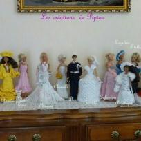 Ma garde -robe pour poupées