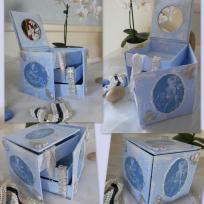 Boîte à bijoux style romantique rétro