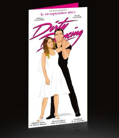faire part de mariage thme cinma dirty dancing - Faire Part Mariage Theme Cinema