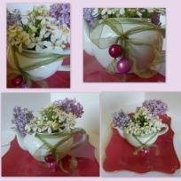 Mini bouquet - le thé au lilas