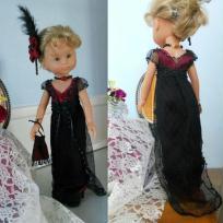 Tenue Belle-Epoque pour poupée Chérie
