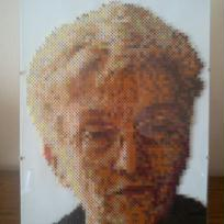 Portrait n° 8 (en perles)