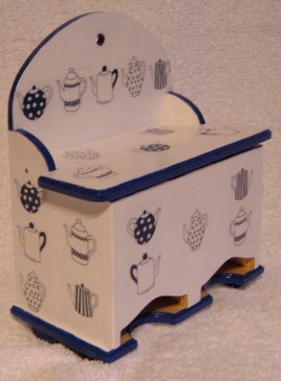 distributeur de dosettes caf ou des sachets th cr ation serviettes en papier de angyalka. Black Bedroom Furniture Sets. Home Design Ideas