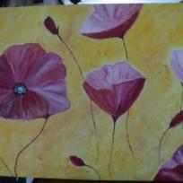 Un envol de fleurs roses