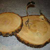 Plateau à fromage en bois
