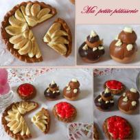 Pâtisseries miniatures en fimo