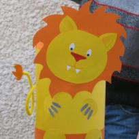 Lanterne Lion pour Halloween