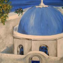 Santorin  (île grecque magique)