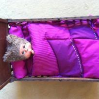 Lit de poupée : garniture