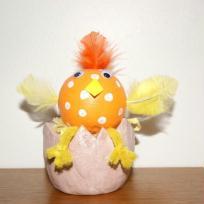 Petit poussin rigolo pour Pâques