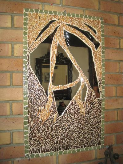 cr ation miroir mosa que de briare cr ation mosa que de lolyne n 45 543 vue 1 570 fois. Black Bedroom Furniture Sets. Home Design Ideas