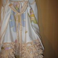 Création robe de princesse urgente