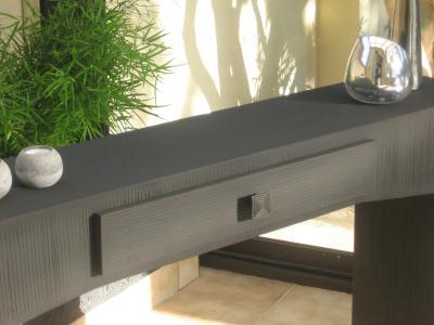 cr ation meuble en carton table console design cr ation meuble en carton de. Black Bedroom Furniture Sets. Home Design Ideas