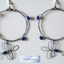 Création boucles d'oreilles papillons