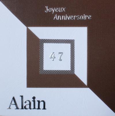 cr ation carte d 39 anniversaire homme graphique cr ation carterie faire part de izabreizh n. Black Bedroom Furniture Sets. Home Design Ideas