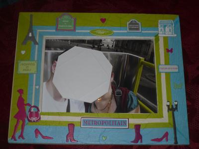 cadre photo destination paris cr ation serviettes en papier de stephanie2073 n 46 810 vue 834. Black Bedroom Furniture Sets. Home Design Ideas