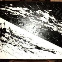 Tableau Noir et blanc / Yin et yang