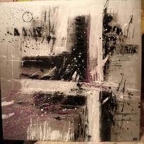 Création peinture acrylique : au monde de l'abstrait