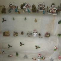 Création Déco de Noël : mon village de noël miniature