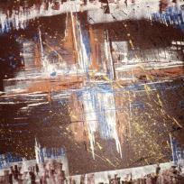 Création peinture acrylique : Au coeur de l'abstrait