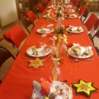 Déco de table de Noël : le résultat final
