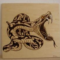 dessin pyrogravure