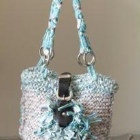 Fabrication sac à main en tee shirt tricoté