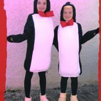 Déguisements de pingouin pour le carnaval de l'école