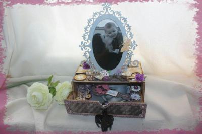 d coration d 39 une bo te a tr sor ou bo te a bijoux. Black Bedroom Furniture Sets. Home Design Ideas