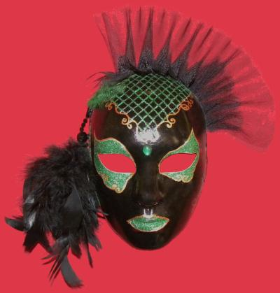 cr ation masque v nitien vert et noir cr ation masque de esmeralda2111 n 48 916 vue 1 745 fois. Black Bedroom Furniture Sets. Home Design Ideas